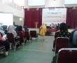 Palembang, IAIN, Sabtu (11/10) Road Show seminar asuransi syariah bertajuk Masyarakat Ekonomi Syariah (MES) di Gedung Akademik Center IAIN Raden Fatah Palembang.  Foto : Aji