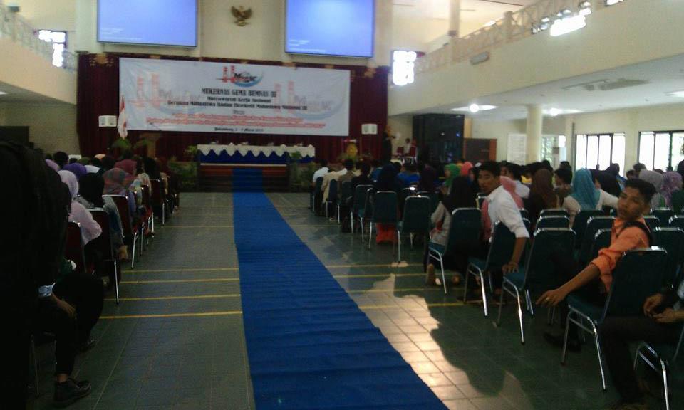 Pembukaan acara Mukernas Gema Bem Nasional ke III