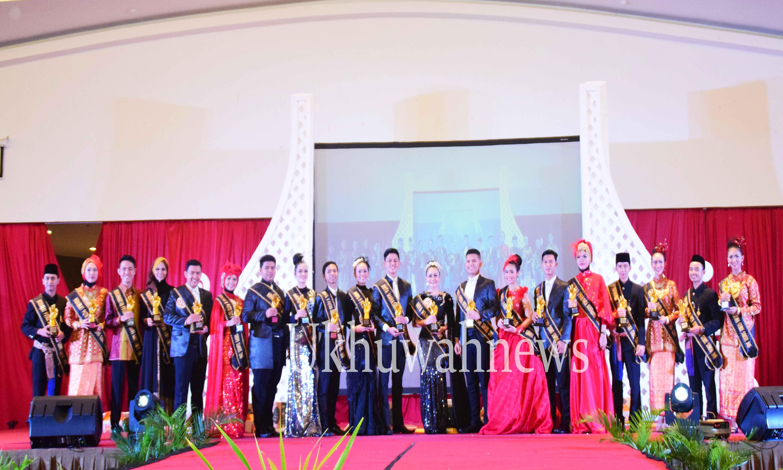 Malam grand final Pemilihan Duta Mahasiswa Genre  BKKBN Sumsel 2016. Di Hotel Horison Ultima, pada Jumat (29/4/16). Ukhuwahnews/Aji Bangun Wicaksono