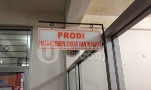 Ruangan baru Prodi Manajemen Zakat dan Wakaf di Fakultas Ekonomi dan Bisnis Islam (FEBI). Palembang, kamis (16/02/17). Ukhuwahnews/Pao