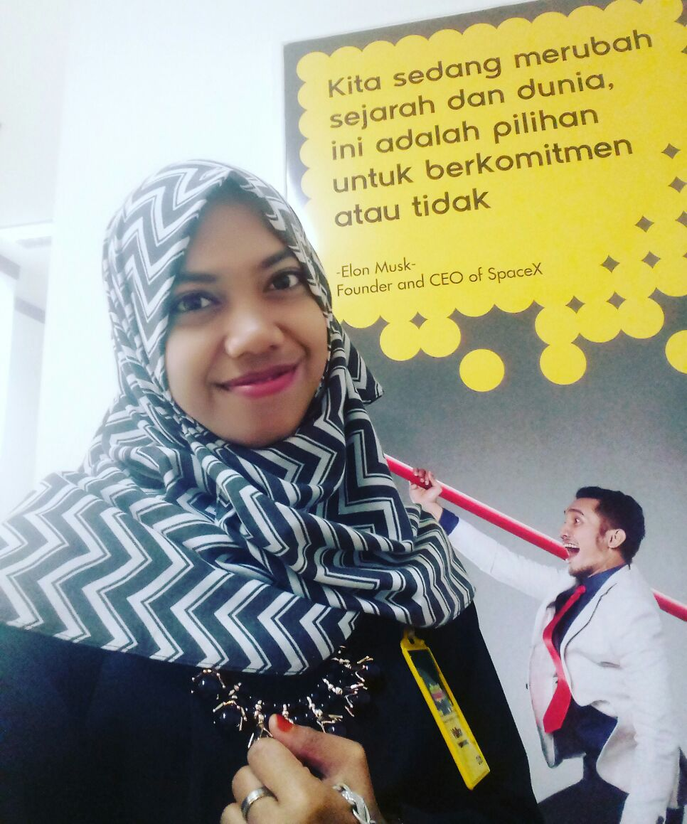Wiji Lestari, Mahasiswa Jurnalistik Fakultas Dakwah dan Komunikasi, semester akhir di Universitas Islam Negeri Raden Fatah (UIN RF) Palemban