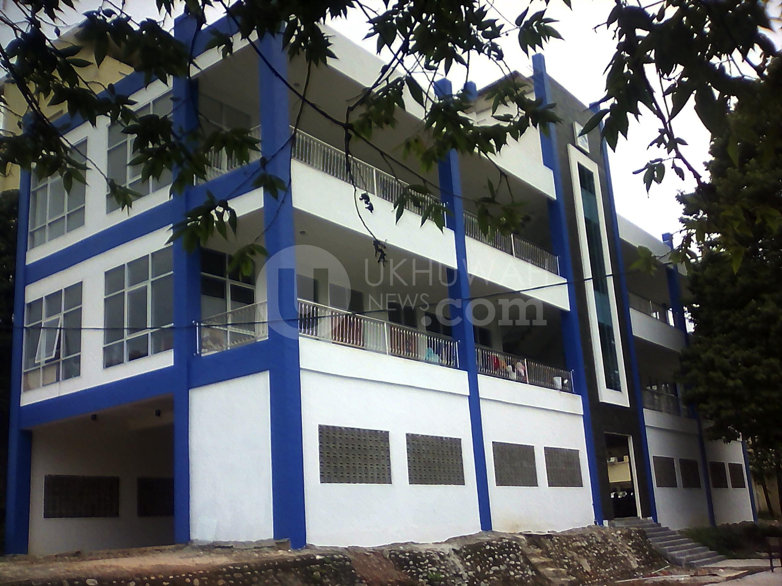 SAINTEK- Terlihat gedung Fakultas Saitentek yang baru selesai pembangunannya, sudah mulai dapat ditempati, Jum'at (10/2/17). Ukhuwahnews/Alfiansyah