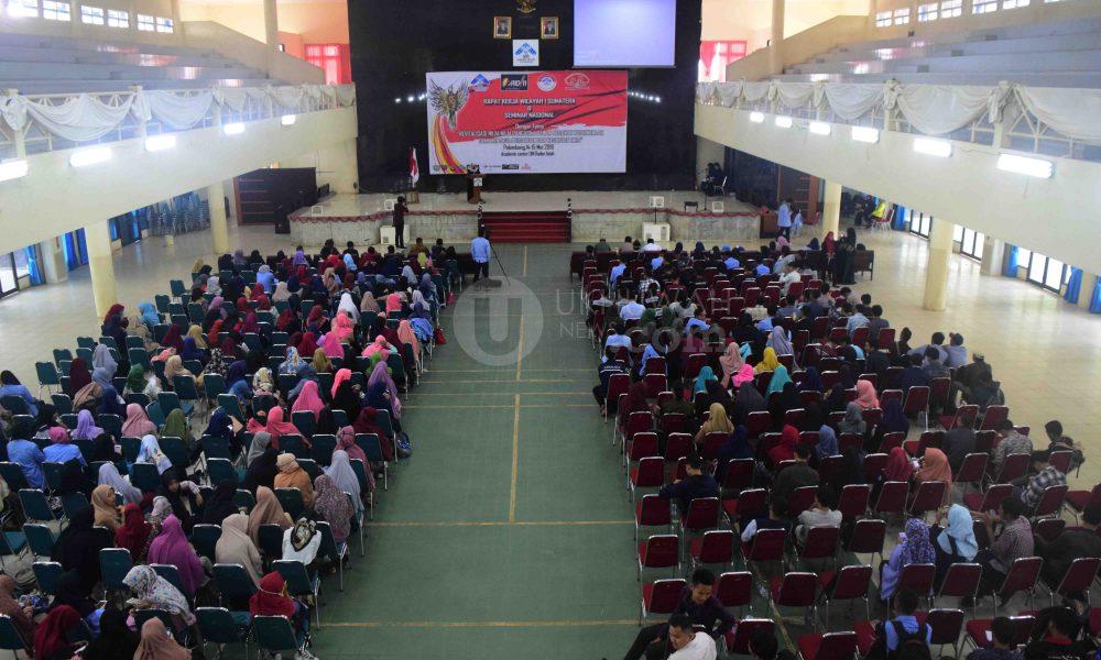 Suasana Rapat Kerja Wilayah 1 Sumatera, Asosiasi Mahasiswa Dakwah Indonesia pertama kali digelar di Gedung Academic Centre Universitas Islam Negeri Raden Fatah (UIN RF) Palembang. Kegiatan itu berlangsung hari ini (14/5/18).Ukhuwahfoto/Amin Q. F.