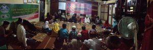 Suasana saat Program Studi (Prodi) Pendidikan Kimia Universitas Islam Negeri Raden Fatah (UIN RF) Palembang mengadakan kegiatan Pengabdian Masyarakat dan Bakti Sosial di Panti Asuhan Nur Asiyah Palembang (25/5/2018). Foto/Humas