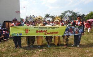 Kampanye Penyadaran Lingkungan; Bebas Sampah,  Dalam Acara Karnafal Peringatan 17 Agustus 2018