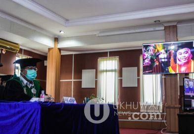 Foto: Prosesi Wisuda 73 UIN RF Secara Online