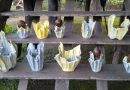 Tips : Membuat Pot Bunga dari Baju Bekas