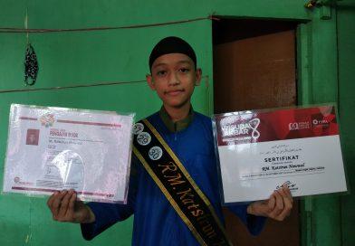 Nawwal, Bocah 13 Tahun Sandang Gelar Hafidz Al-Qur'an Muda dan Berprestasi