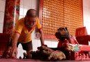 Foto : Menuju Imlek 2572 di Kelenteng Dewi Kwan Im Palembang