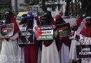 Puluhan Organisasi dan Komunitas Kota Palembang Turun Aksi Bela Palestina